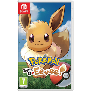Switch mäng Pokémon: Lets Go, Eevee!