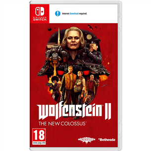 Switch game Wolfenstein II: The New Colossus