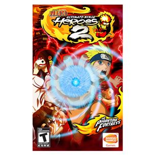 PlayStation Portable mäng Naruto Ultimate Ninja Heroes 2: The Phantom Fortress