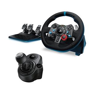 PS5 / PS4 / PC roolikomplekt Logitech G29 + käigukang G29SHIFTER