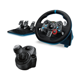 Racing wheel Logitech G29 + Driving force shifter for PS3 / PS4 / PC