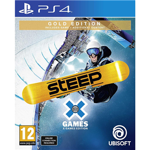 PS4 game Steep X Games Gold Edition
