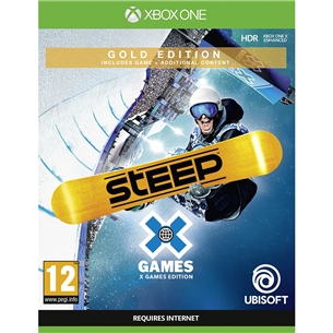 Xbox One game Steep X Games Gold Edition