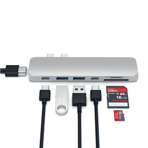 Хаб USB-C для MacBook Pro Satechi