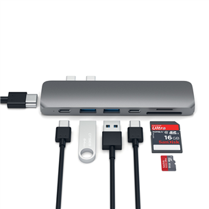 MacBook Pro USB-C jagaja Satechi
