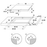 Integreeritav keraamiline pliidiplaat Gorenje