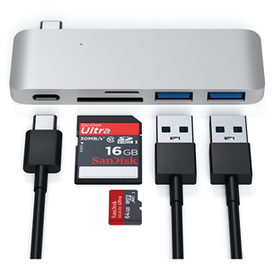 MacBook USB-C hub Satechi