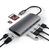 USB-C jagaja Multi-Port 4K Gigabit Ethernet Satechi