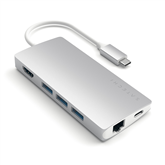 USB-C jagaja Multi-Port 4K Gigabit Ethernet Satechi