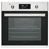 Built-in oven, Sharp / capacity: 68 L