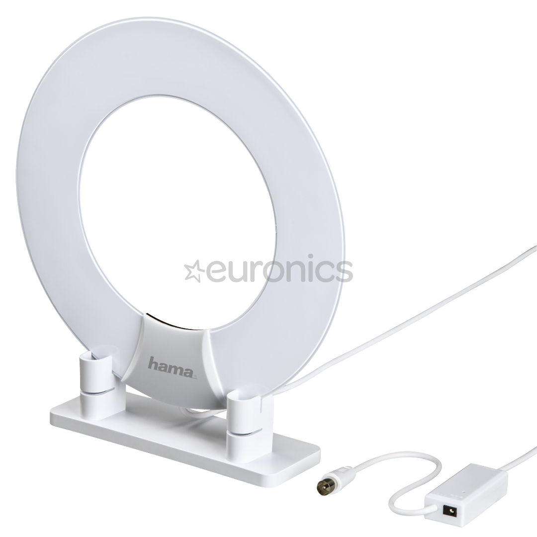 Indoor antenna Hama, DVB-T/T2 RING