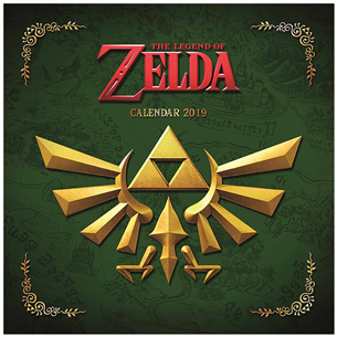 Kalender Legend of Zelda 2019