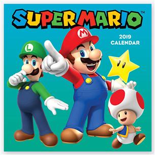 Kalender Super Mario 2019
