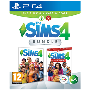 PS4 mäng The Sims 4 + Cats and Dogs Bundle