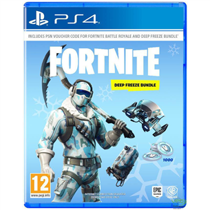 PS4 mäng Fortnite Deep Freeze Bundle