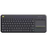 Беспроводная клавиатура K400 Plus, Logitech / RUS