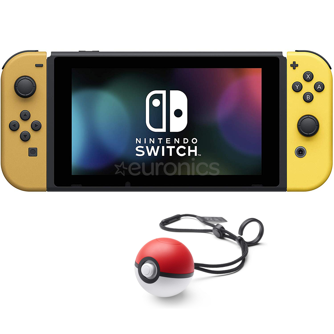 Game Console Nintendo Switch Pokemon Let S Go Pikachu Edition