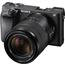 Hübriidkaamera Sony α6300 + objektiiv 18-135mm