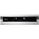Интегрируемый холодильник AEG / высота: 178 см
