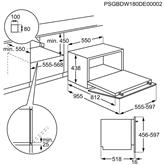 Integreeritav kompaktne nõudepesumasin Electrolux (6 nõudekomplekti)