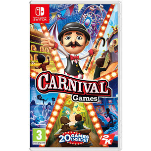 Switch mäng Carnival Games