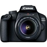 Peegelkaamera Canon EOS 4000D + objektiiv EF-S 18-55mm III