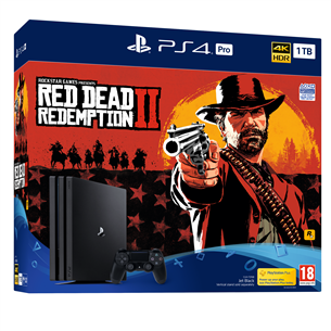 Mängukonsool Sony PlayStation 4 Pro (1 TB) + Red Dead Redemption 2