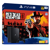 Игровая приставка PlayStation 4 Pro, Sony / 1TB + Red Dead Redemption 2