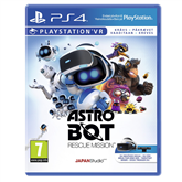 PS4 mäng VR Astro Bot Rescue Mission