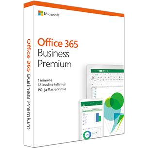 Microsoft Office 365 Business Premium 1 aasta (EST)