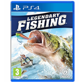 PS4 mäng Legendary Fishing
