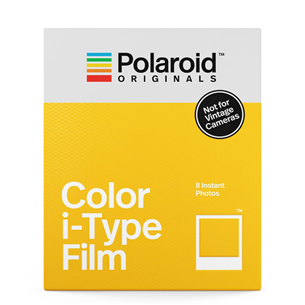 Fotopaber Polaroid Color Film i-Type (8 tk)