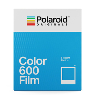 Fotopaber Polaroid Color Film 600 (8 tk)