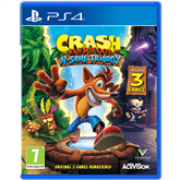 PS4 mäng Crash Bandicoot N. Sane Trilogy