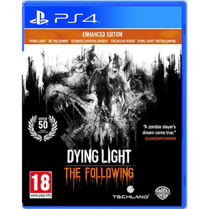 PS4 mäng Dying Light Enhanced Edition