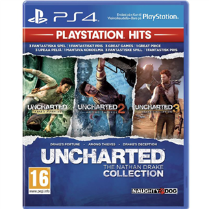 PS4 mäng Uncharted: The Nathan Drake Collection