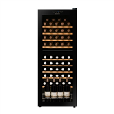 Wine cooler, Dunavox / capacity: 54 bottles