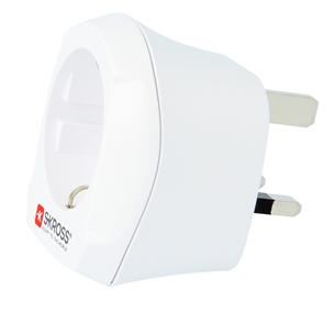 Travel adapter EUR -- UK Skross 7640166320265