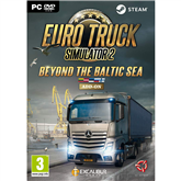 Arvutimäng Euro Truck Simulator 2: Beyond the Baltic Sea
