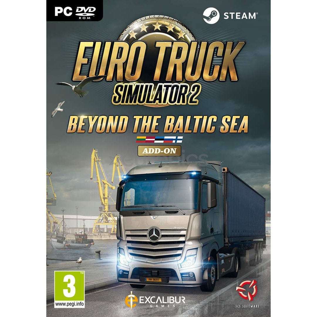 PC game Euro Truck Simulator 2: Beyond the Baltic Sea