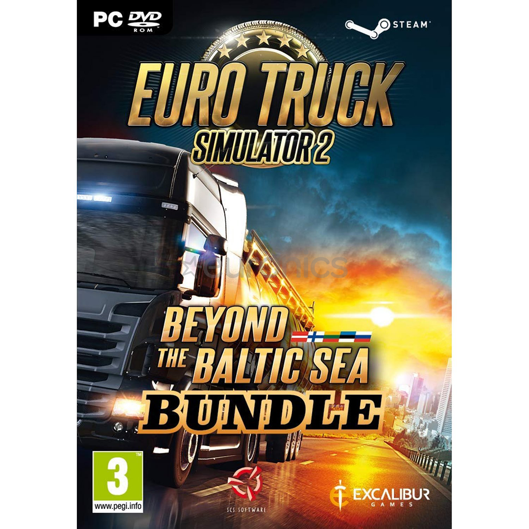 pc game euro truck simulator 2 beyond the baltic sea. Black Bedroom Furniture Sets. Home Design Ideas
