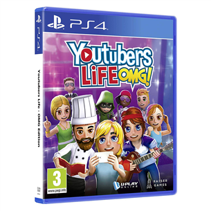 PS4 mäng YouTubers Life OMG! Edition