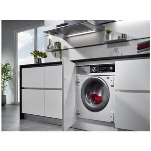 Built-in washing machine-dryer AEG (8 kg / 4 kg)
