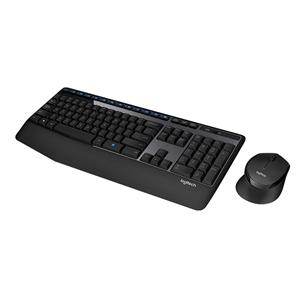 Juhtmevaba klaviatuur + hiir Logitech MK345 (US)