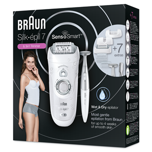 Epilaator Braun Silk-épil 7 SensoSmart + bikiini trimmer