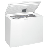 Chest freezer, Whirlpool / 251 L