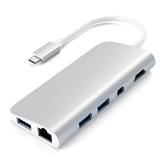 Adapter USB-C hub 4K HDMI/Mini DP Gigabit Ethernet Satechi