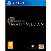 PS4 game The Dark Pictures Anthology: Man of Medan