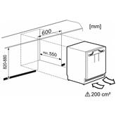 Integreeritav jahekapp Miele (82 cm)