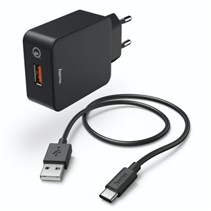 Зарядное устройство USB-C, Hama / 3A